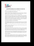 Résolution Générale du 2e Congrès de l'UNSA-ICNA
