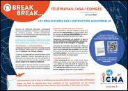 Télétravail, ASA, congés : les règles fixées par l'instruction ministérielle