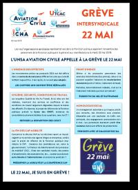 Grève intersyndicale 22 mai