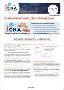 Campagne de mobilité Automne 2020