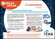 Concours CCINP, modification du décret ICNA