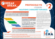 2 - Vacations à horaires variables