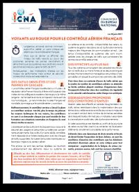 Voyants au rouge pour le contrôle aérien français