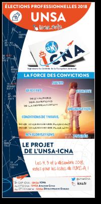 Le projet de l'UNSA-ICNA