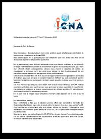 Déclaration liminaire lue au GS EEE du 1er décembre 2015