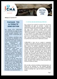 Package TDS Alternatif - 2ème Edition