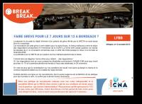 Faire grève pour le 7 jours sur 12 à Bordeaux ?
