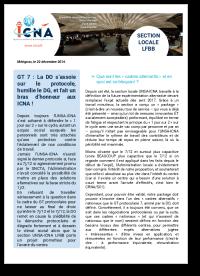 GT 7: La DO s'assoit sur le protocole, humilie le DG, et fait un bras d'honneur aux ICNA!