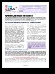 Pyrénées, le bilan 2012