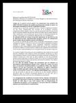 Lettre au président du CHSCT / SO