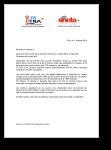 Lettre intersyndicale concernant l'avenir de Pyrénées