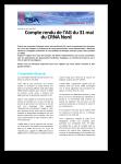 Compte Rendu AG LFFF du 31 mai 2010