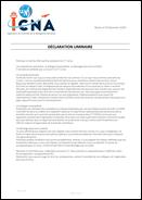 Déclaration liminaire CT Corse