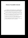 Assemblée générale des ICNA de Clermont Ferrand