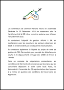 AG des contrôleurs de Clermont