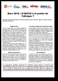 D-ISATIS à Lyon un compromis devenu  indispensable