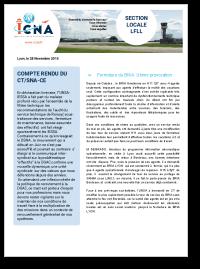 Compte-rendu du CT/SNA-CE du 24 novembre 2015