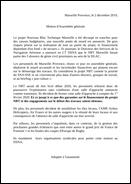 Motion d'assemblée générale Marseille Provence
