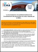 La reconnaissance ( du professionnalisme et de l'investissement des personnels) une valeur méprisée par la DSNA…