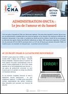 Administration-SNCTA : Le jeu de l'amour et du hasard