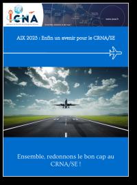 AIX 2023 - Enfin un avenir pour le CRNA/SE