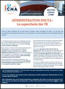Administration-SNCTA :  La supercherie des TR