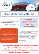 Bilan de la consultation