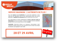 Service maximum : 2 astreints de plus !