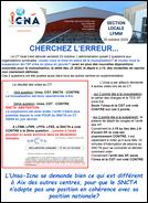 CHERCHEZ L'ERREUR...