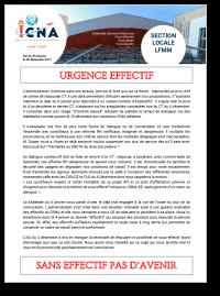 Urgence Effectif