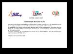 Communiqué des ICNA d'Orly sur ESPACE 2011