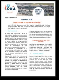 L'UNSA-ICNA, la voix des ICNA d'Orly