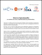 Tract intersyndical: Réserves opérationnelles au CRNA-O