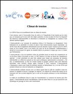 CRNA-O : Climat de tension