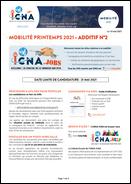 Mobilité Printemps 2021 - Additif n°2